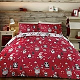 Dunelm Christmas Party Duvet Set