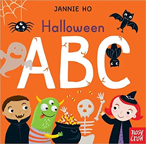 For Ages 0 to 2: Halloween ABC
