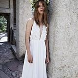 The Isabella Halter Maxi Dress