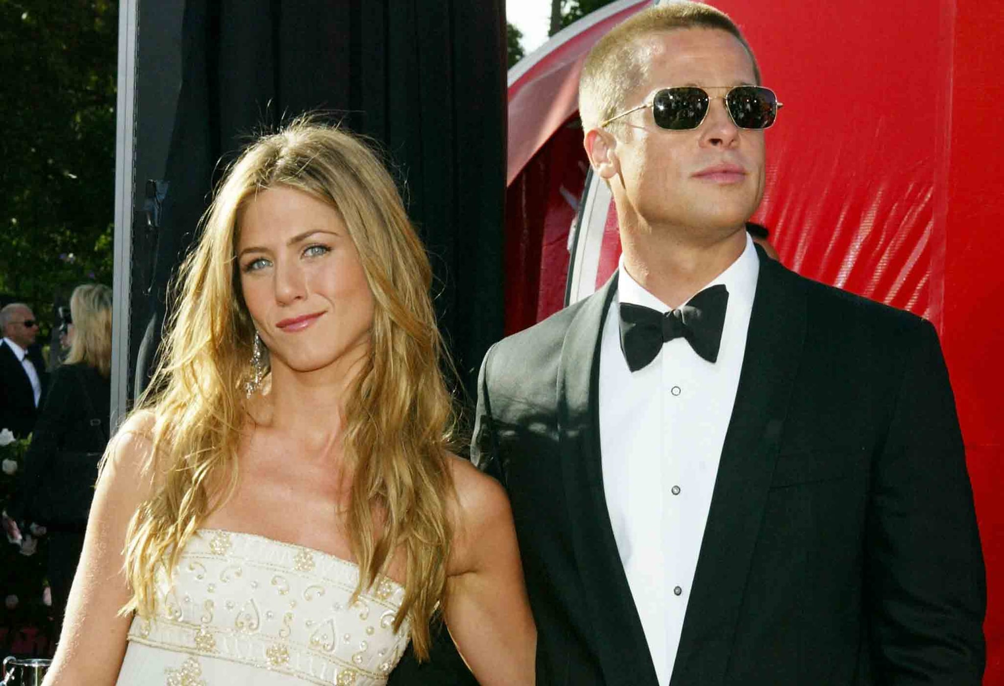 Jennifer aniston and brad pitt wedding vows