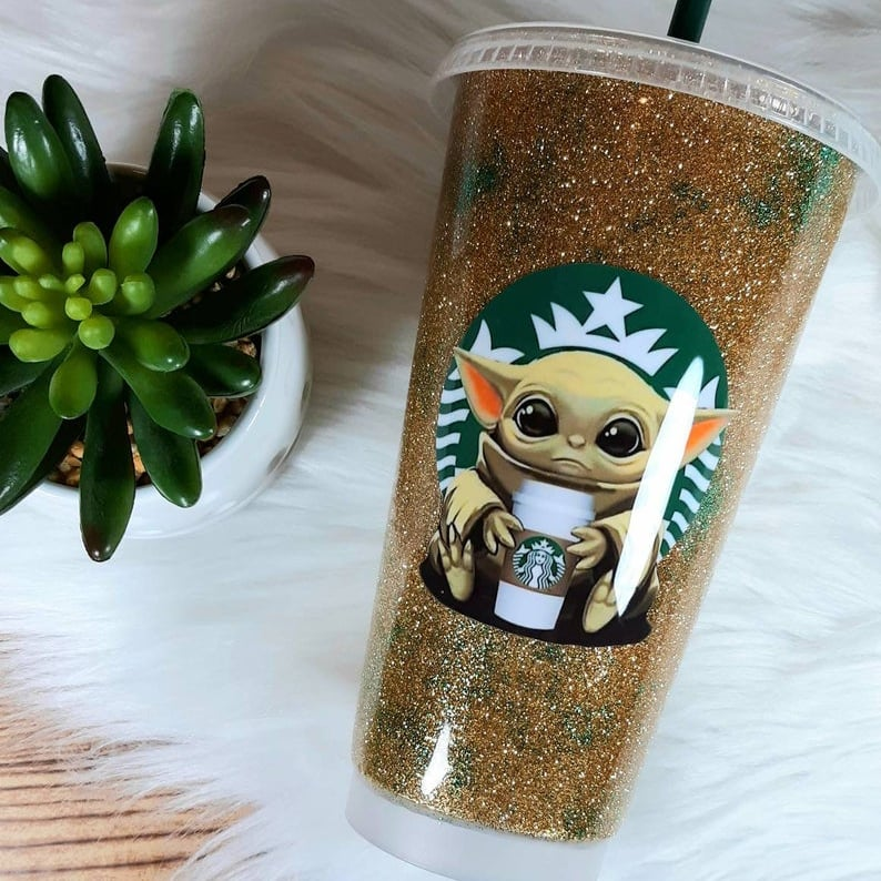 This Baby Yoda Tumbler Is So Cute It Hurts Popsugar Food