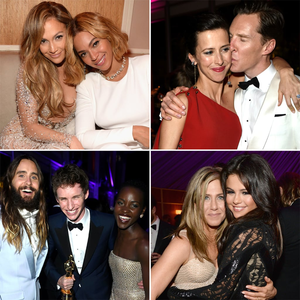 Celebrities at the Vanity Fair Oscars Afterparty 2015