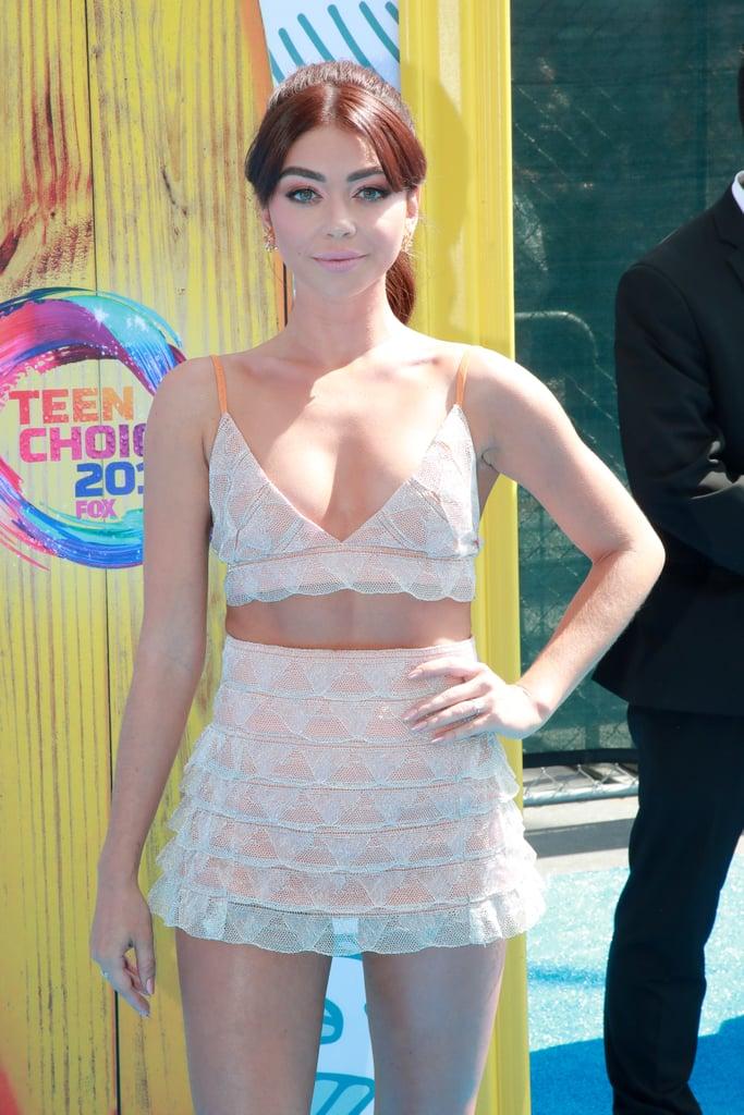 Sarah Hyland at the Teen Choice Awards