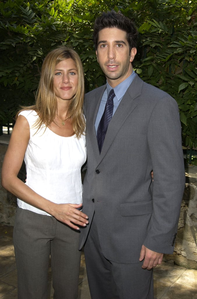 Kia Palm Springs >> Jen and her onscreen love David Schwimmer attended a ...