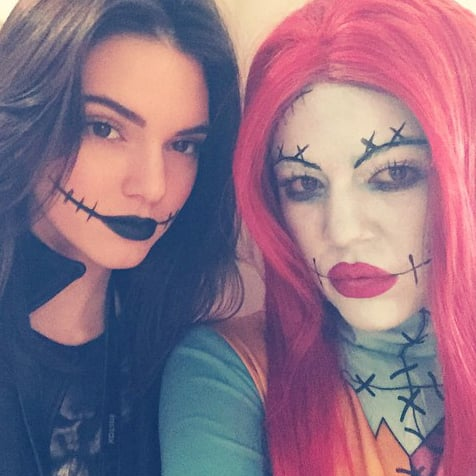 The Kardashian and Jenner Ladies Get Spooky at Mason Disick's B-Day Party