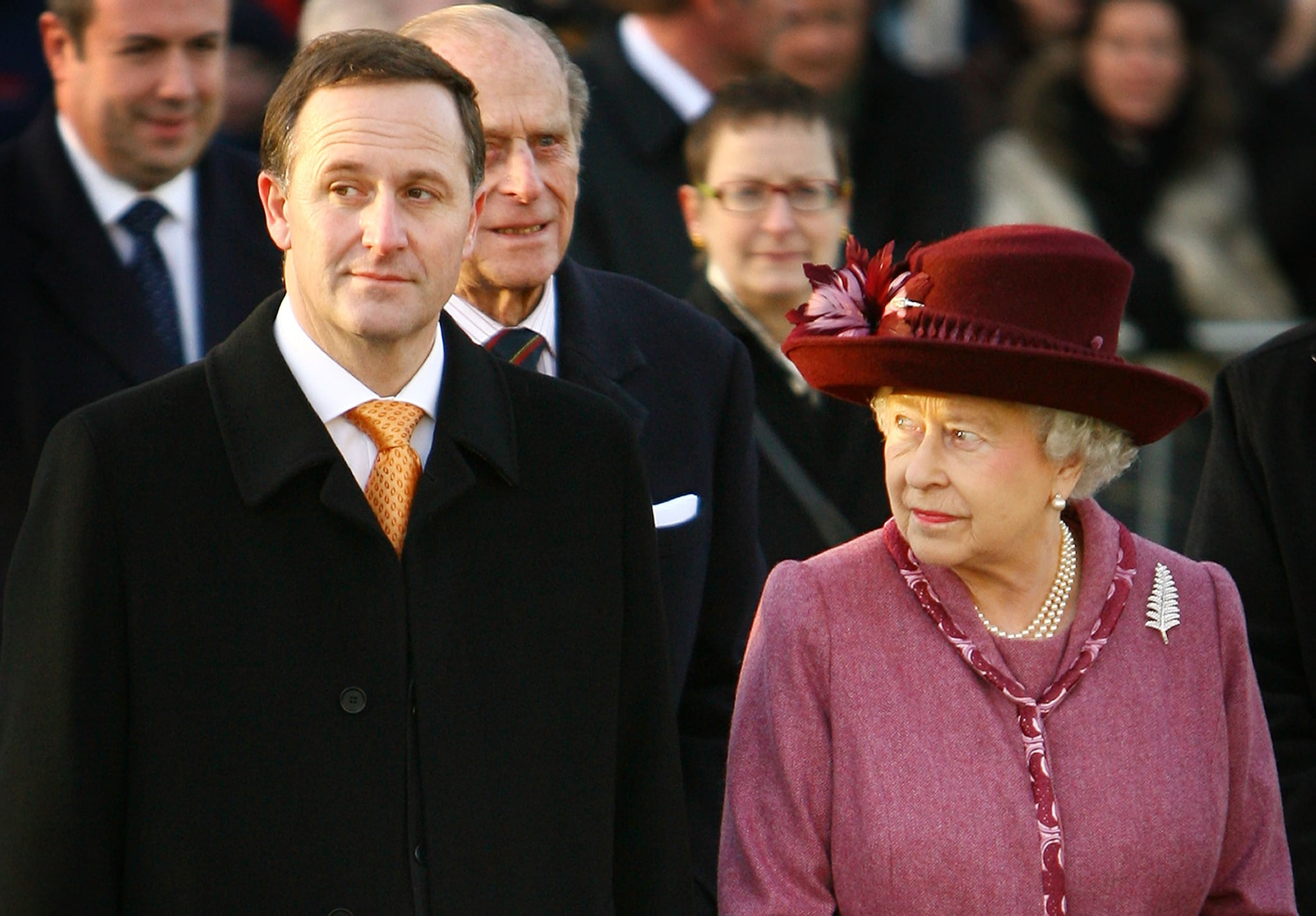 The Queen's New Zealand Pin