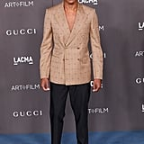 Jeremy Pope at the 2019 LACMA Art + Film Gala