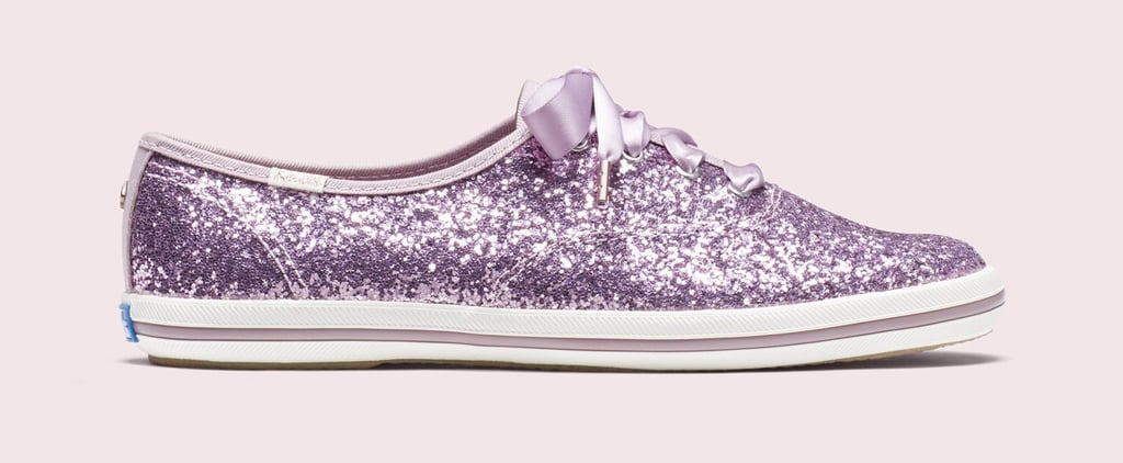 Keds x Kate Spade New York Purple Glitter Sneakers 2019