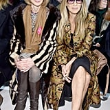 Raf had a wonderful front-row turnout including Sarah Jessica Parker, Anna Wintour, Millie Bobby Brown, A$AP Rocky, Julianne Moore, Naomie Harris, and Gwyneth Paltrow.