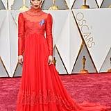 Ruth Negga at the 2017 Academy Awards