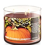 Sweet Cinnamon Pumpkin candle ($23)
