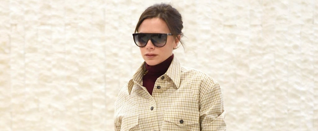 If Victoria Beckham's Checked Look Doesn't Make You Want to Go Matchy-Matchy, Nothing Will