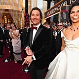 Pictured: Matthew McConaughey and Camila Alves