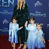 Molly Sims at the Frozen 2 Premiere in Los Angeles