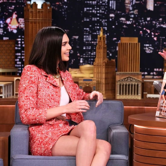 Kendall Jenner Wearing Vintage Chanel on Jimmy Fallon 2017