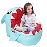 Kids will love sitting on the Lmeison Animal Storage Bean Bag Chair ($24).