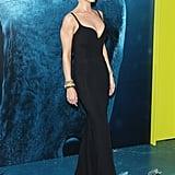 Rosie Huntington-Whiteley's Black Stella McCartney Dress