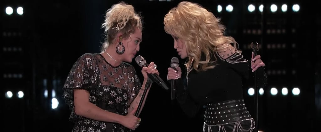 "Dolly Parton Looks So Proud Singing ""Jolene"" With Her Goddaughter Miley Cyrus"