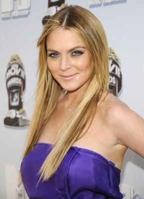 Lindsay Lohan at the 2008 MTV Movie Awards 2008-06-01 17:22:43