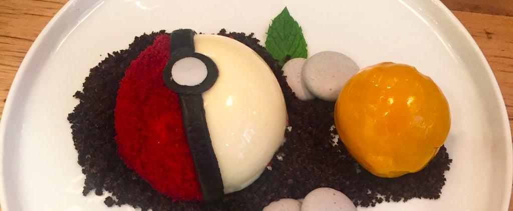 Pokemon Ball Dessert