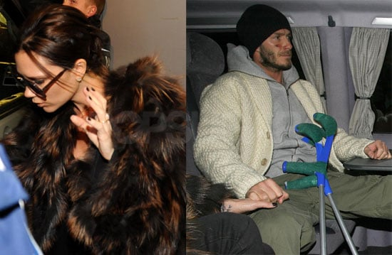 Photos of Posh and Becks