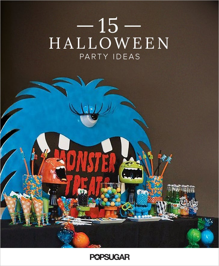 kid friendly halloween party ideas popsugar moms - Halloween Halloween