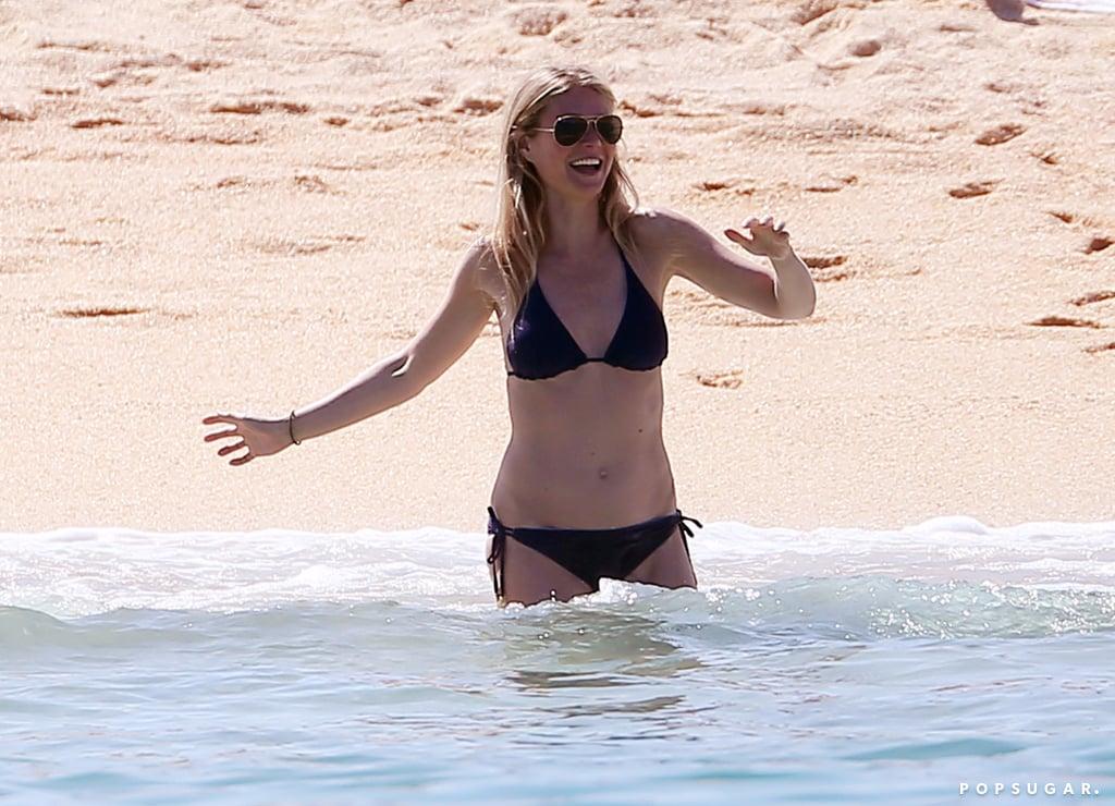 Gwyneth Paltrow in a Bikini in Mexico April 2017