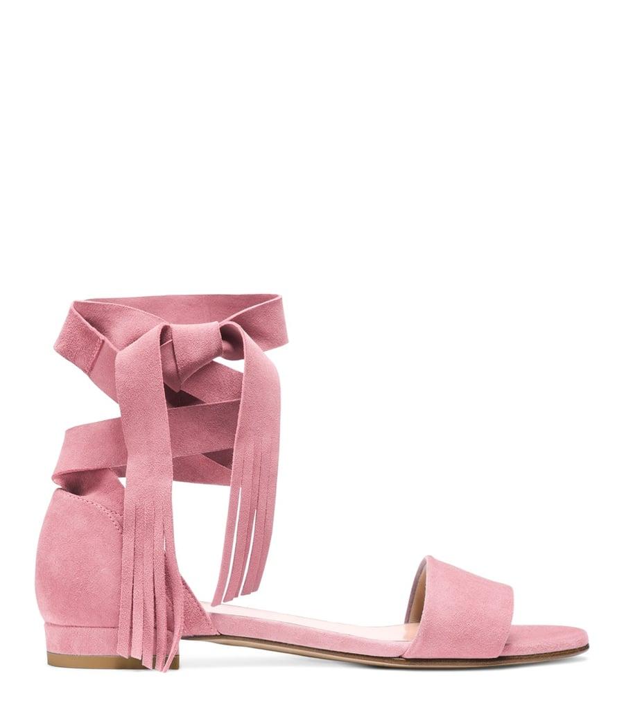 Try the Stuart Weitzman Corbata Sandal ($398) if you like to keep things effortless and ladylike.