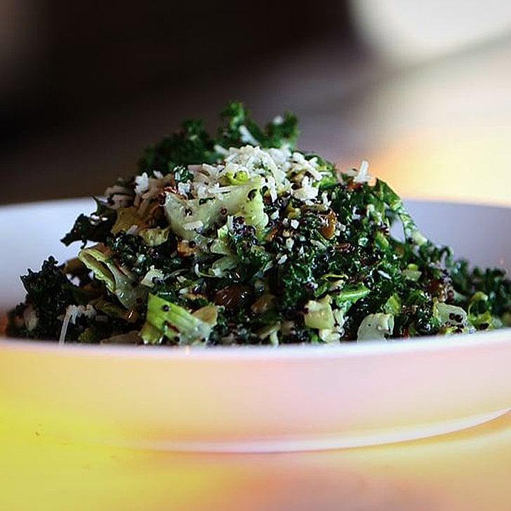Kale Chopped Salad With Lemon-Parmesan Vinaigrette