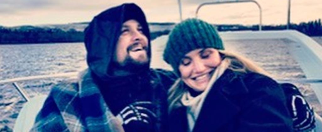 Benji Madden's Cuddly Photo With Cameron Diaz Will Get You Excited For Fall