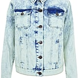 The denim jacket is an essential to the festival-goer's wardrobe, and you can snag it from the Topshop Festival Collection for Summer 2013, inspired by Kate Bosworth.