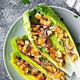 Barbecue Chicken Lettuce Wraps