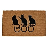 Boo Cats Doormat