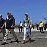 Melania Trump Wearing Timberland Boots