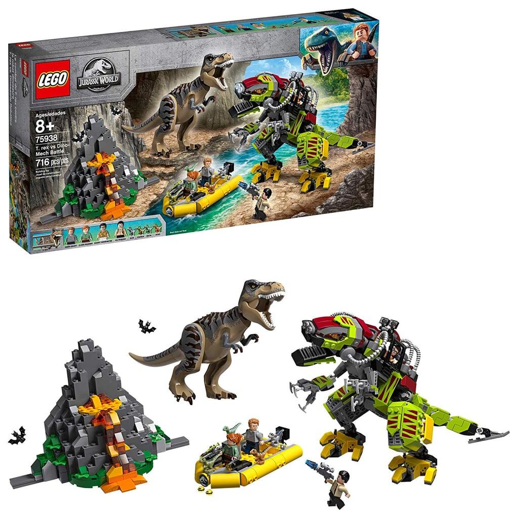For 8-Year-Olds: LEGO Jurassic World T. rex vs Dino-Mech Battle