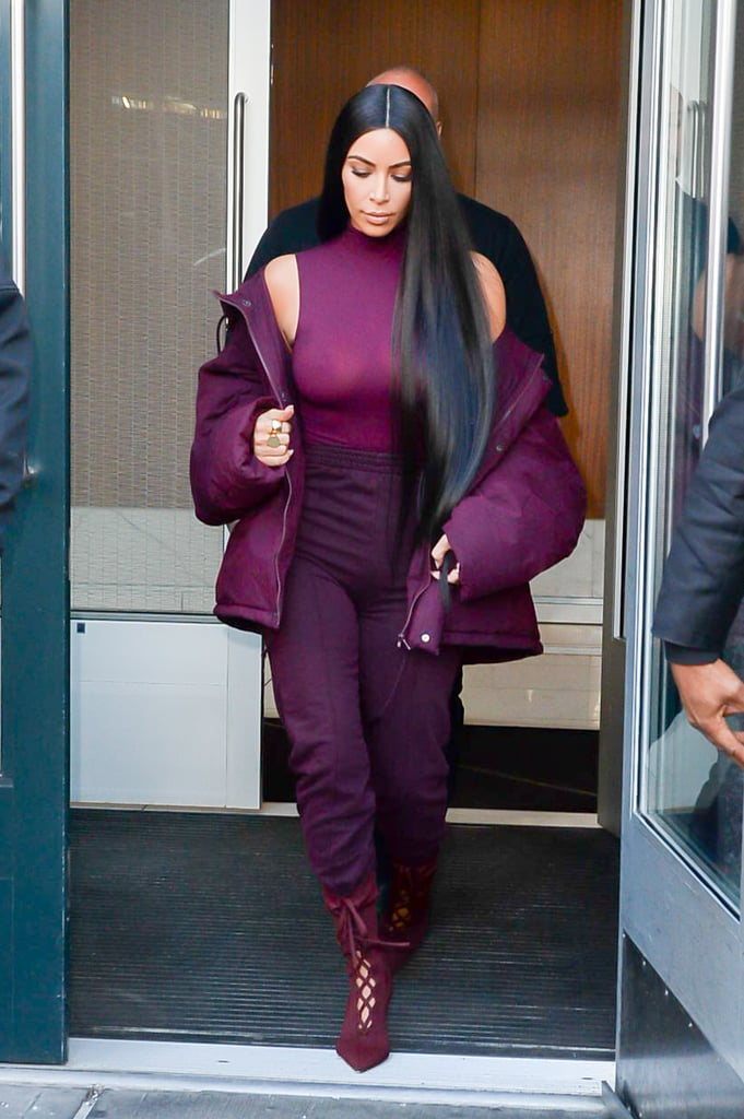 What Kim Kardashian Wore to the Show