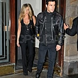 Jennifer Aniston and Justin Theroux on their way to Five screening in NYC.
