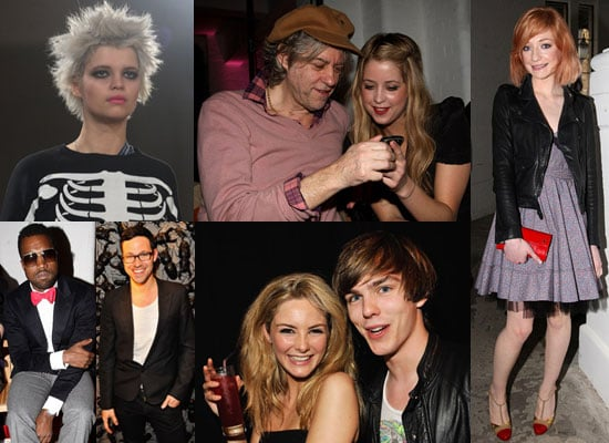 Photos of Pixie, Peaches and Geldof at London Fashion Week With Nicholas Hoult, Nicola Roberts, Will Young, David Walliams