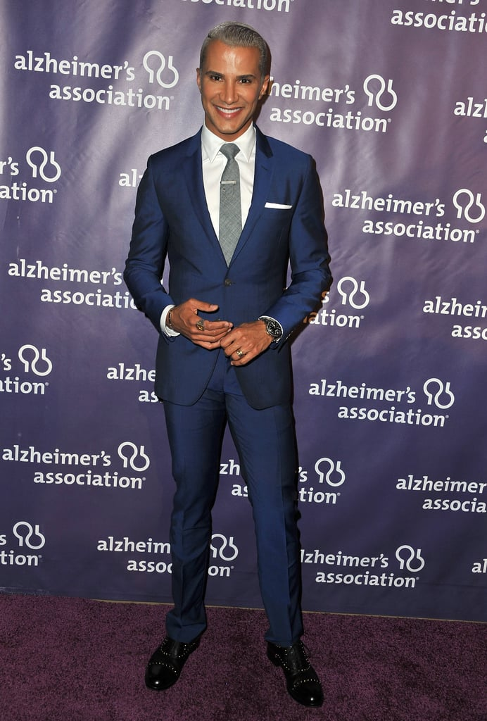 Jay Manuel looked stylish on the red carpet.