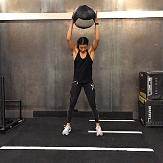 How to Do a Rotational Medicine Ball Slam and Toss