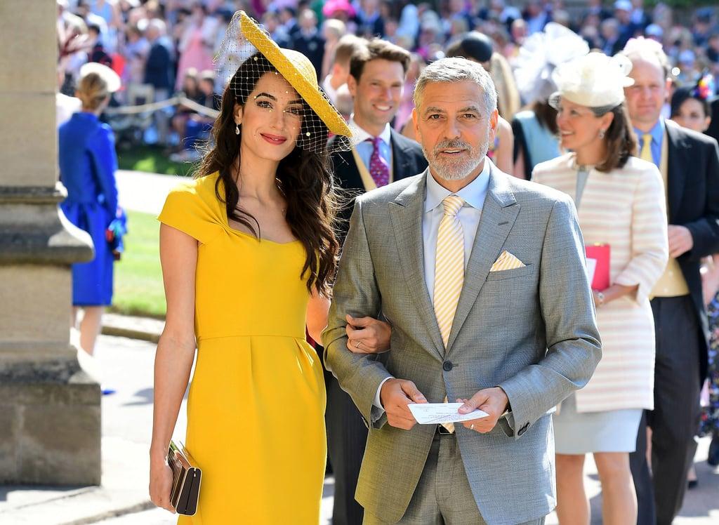 Amal Clooney Dress at Royal Wedding 2018 | POPSUGAR Fashion Australia