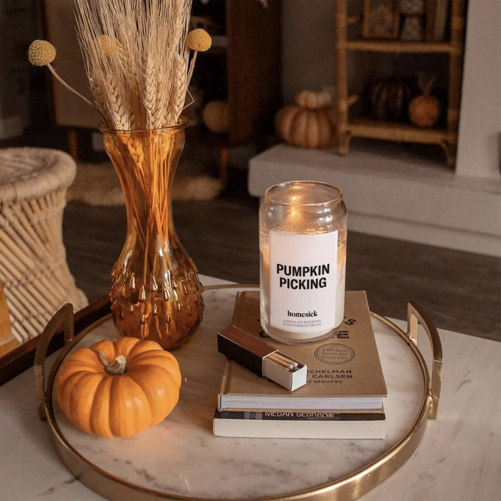 Homesick Pumpkin Picking Candle