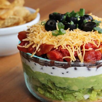 Healthy Seven-Layer Dip