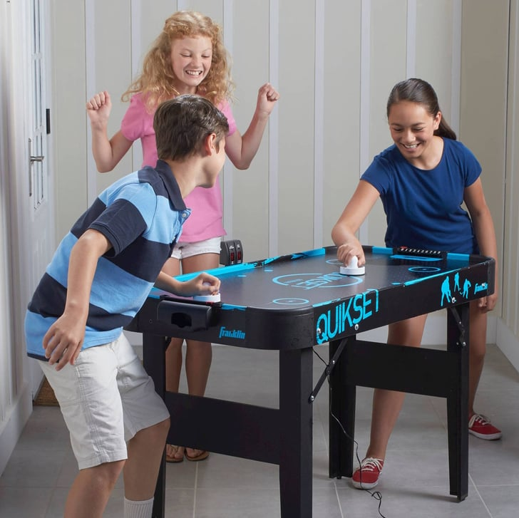 Franklin Sports Quikset Air Hockey Table Gift Guide For