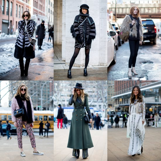 New York Fashion Week Street Style Stars Shows Off the Goods