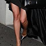 Lady Gaga Wearing the Jimmy Choo Romy Pointy Toe Pumps