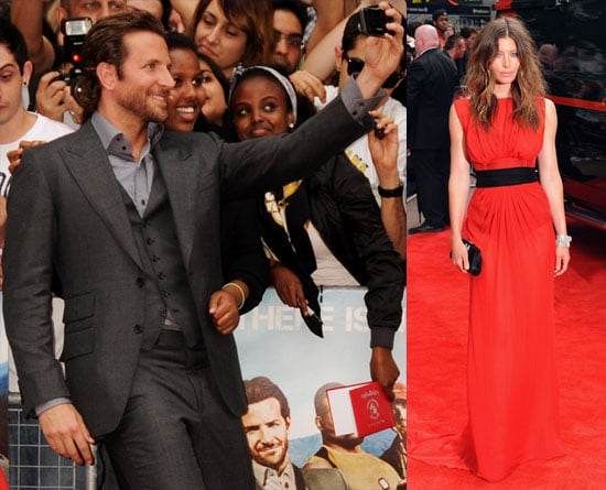 Pictures of Jessica Biel and Bradley Cooper at A-Team UK Premiere