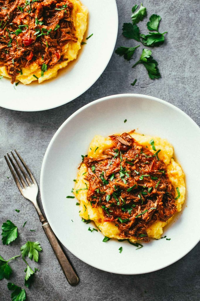Recipe for a Crowd: Slow-Cooker Braised Beef Ragu and Polenta