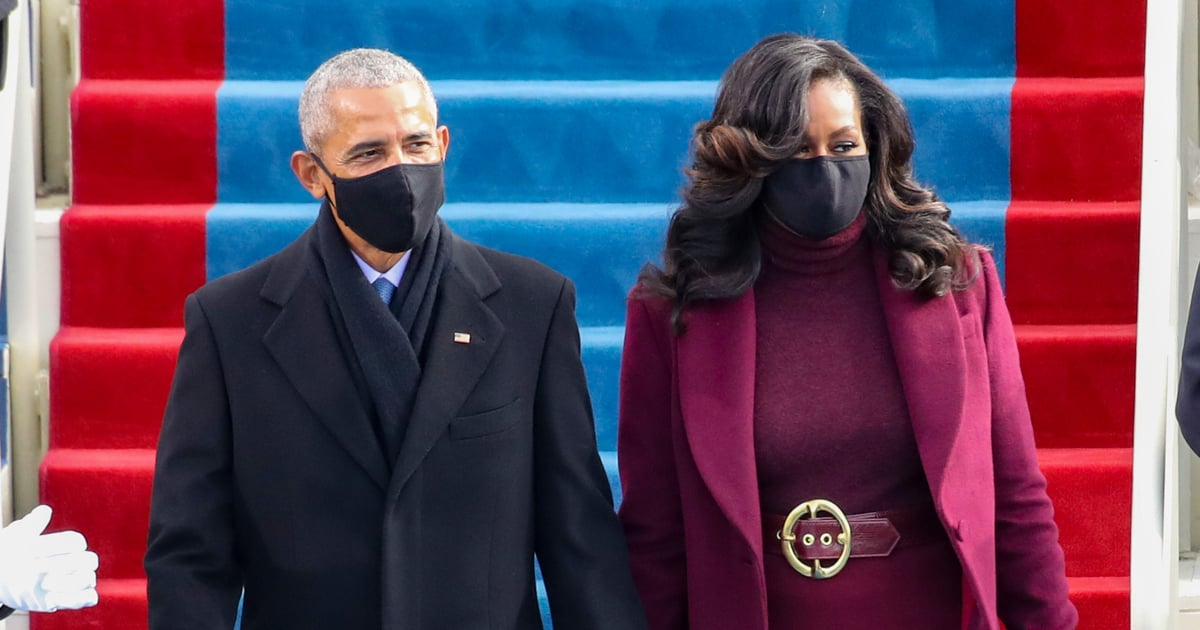 Why Yes, of Course Michelle Obama Served Looks at Joe Biden's Inauguration