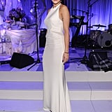 Rita Ora wore a custom Emilio Pucci to attend the Bergdorf Goodman 111th Anniversary Celebration in NYC.